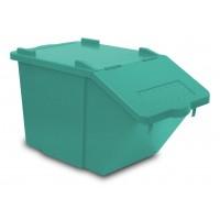 Atliekų rūšiavimo dėžė Split, TTS, 510x300x315 mm, 45 l, žalia