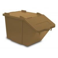 Atliekų rūšiavimo dėžė Split, 510x300x315 mm, ruda, TTS