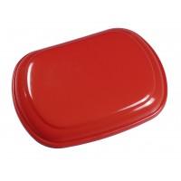 Dangtis šiukšlių dėžėi Derby, raudonas, TTS