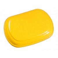 Dangtis šiukšlių dėžėi Derby, TTS, geltonas