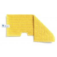 Dvipusė šluostė grindims, TTS, 400 mm, geltona