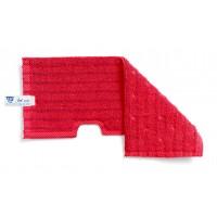 Dvipusė šluostė grindims, TTS, 400 mm, raudona