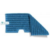 Dvipusė šluostė grindims, TTS, 400 mm, mėlyna