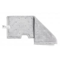 Dvipusė šluostė grindims, TTS, 400 mm, pilka