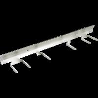 Laikiklis kotams, 470x80x60 mm, pilkas, Vikan
