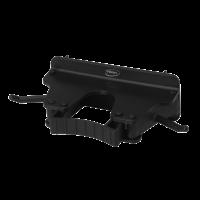 Laikiklis kotams, 160x80x60 mm, juodas, Vikan