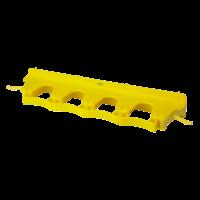 Laikiklis kotams, Vikan, 395 mm, geltonas