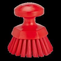 Apvalus rankinis šepetys, Ø110 mm, raudonas, Vikan