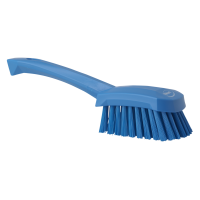 Šepetys plovimui su trumpa rankena, Vikan, 270 mm, mėlynas