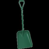 Kastuvas, 379x345x90 mm, 1035 mm, žalias, Vikan