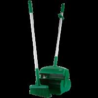 Semtuvėlis su šluotele, 370 mm, žalias, Vikan
