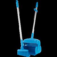 Semtuvėlis su šluotele, 370 mm, mėlynas, Vikan