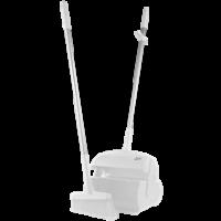 Semtuvėlis su šluotele, 370 mm, baltas, Vikan