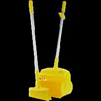 Semtuvėlis su šluotele, 370 mm, geltonas, Vikan