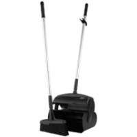 Semtuvėlis su šluotele, 370 mm, juodas, Vikan