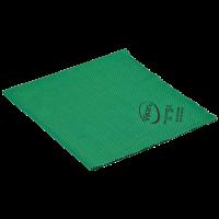 Mikropluošto šluostė, Vikan, 400x400 mm, žalia