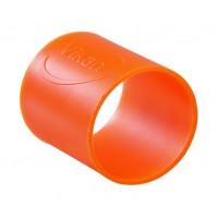 Guminiai žiedai 5 vnt, Ø26 mm, oranžiniai, Vikan