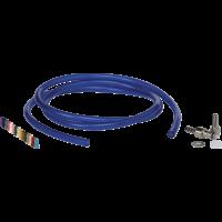 """Žarnelė pasiurbimui su antgalių rinkiniu, 1/8"""", 15000 mm, mėlyna, Vikan"""